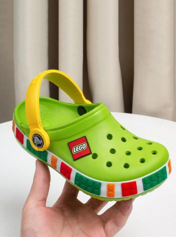 Стильные детские кроксы Лего
