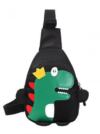 Дитяча сумка-бананка у вигляді динозавра