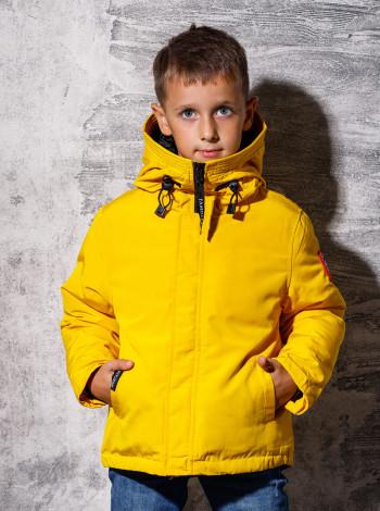 Пуховая демисезонная куртка для мальчика