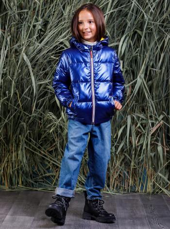 Пуховая демисезонная куртка для девочки