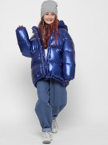 Пуховая зимняя куртка для девочки