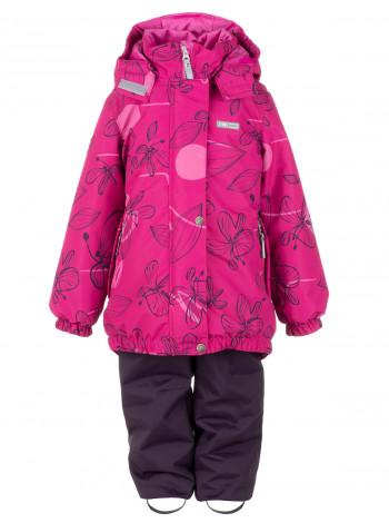 Зимовий комплект (куртка + напівкомбінезон) для дівчинки