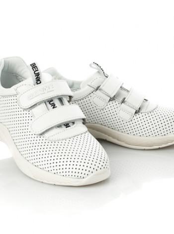 Шкіряні кросівки для дівчинки Tutubi