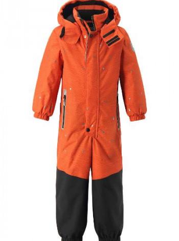 Оранжевый Зимний комбинезон Reimatec для мальчика