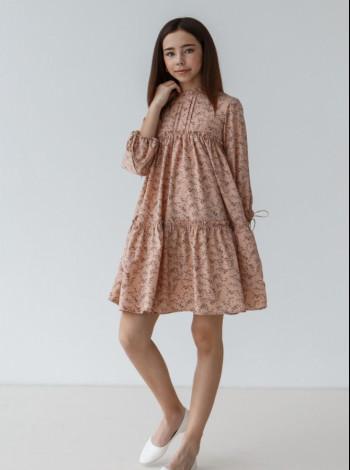 Платье длинный рукав для девочки
