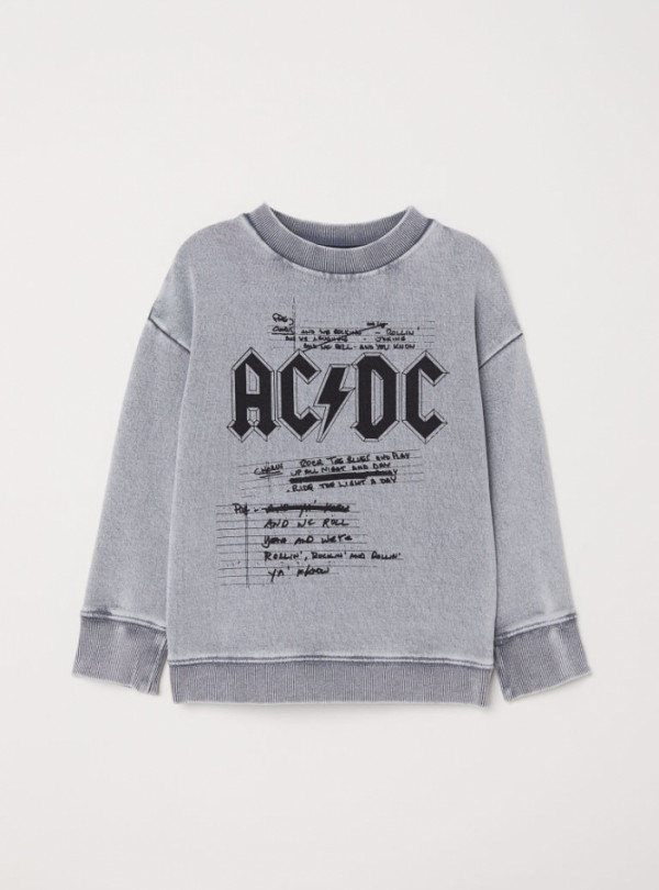 Світшот з принтом AC|DC на хлопчика H&M 560