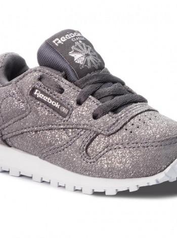 Стильные кроссовки Reebok с блестками