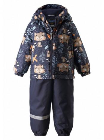 Комплект двойка куртка+полукомбинезон Lassie