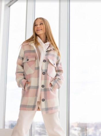 Пальто-рубашка для девочки