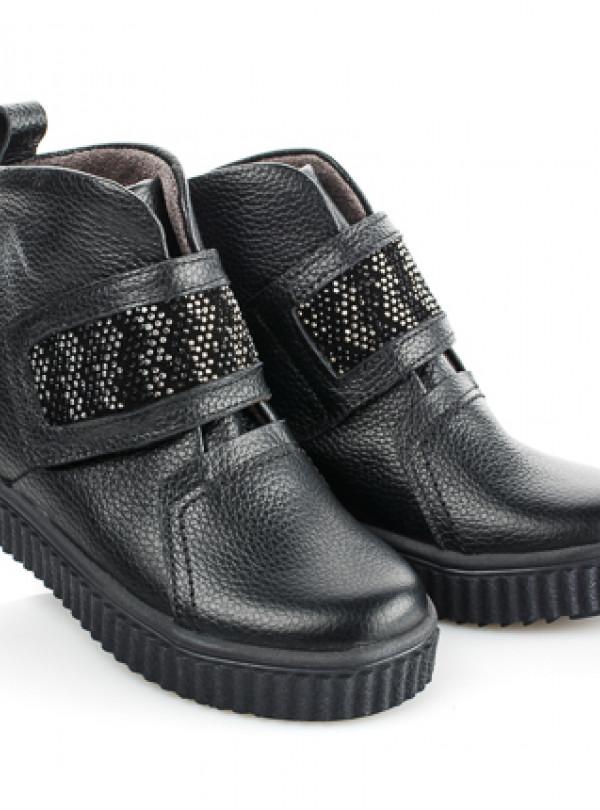 Стильные ботинки на байке на девочку   949