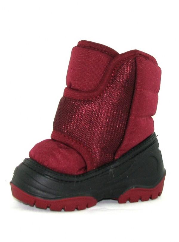 Зимные термо ботинки на меху  Олаф бордо   773
