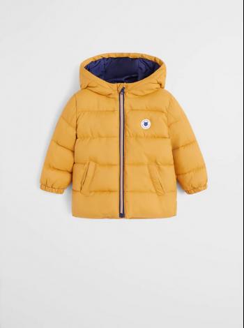 Куртка стеганная с капюшоном Mango