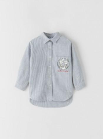 Сорочка з принтом  для хлопчика
