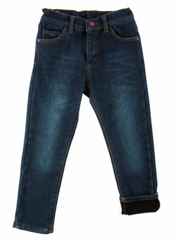 Тёплые джинсы с флисом на мальчика