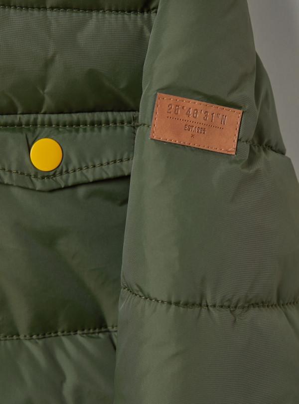 Утеплена куртка з капюшоном H&M 824