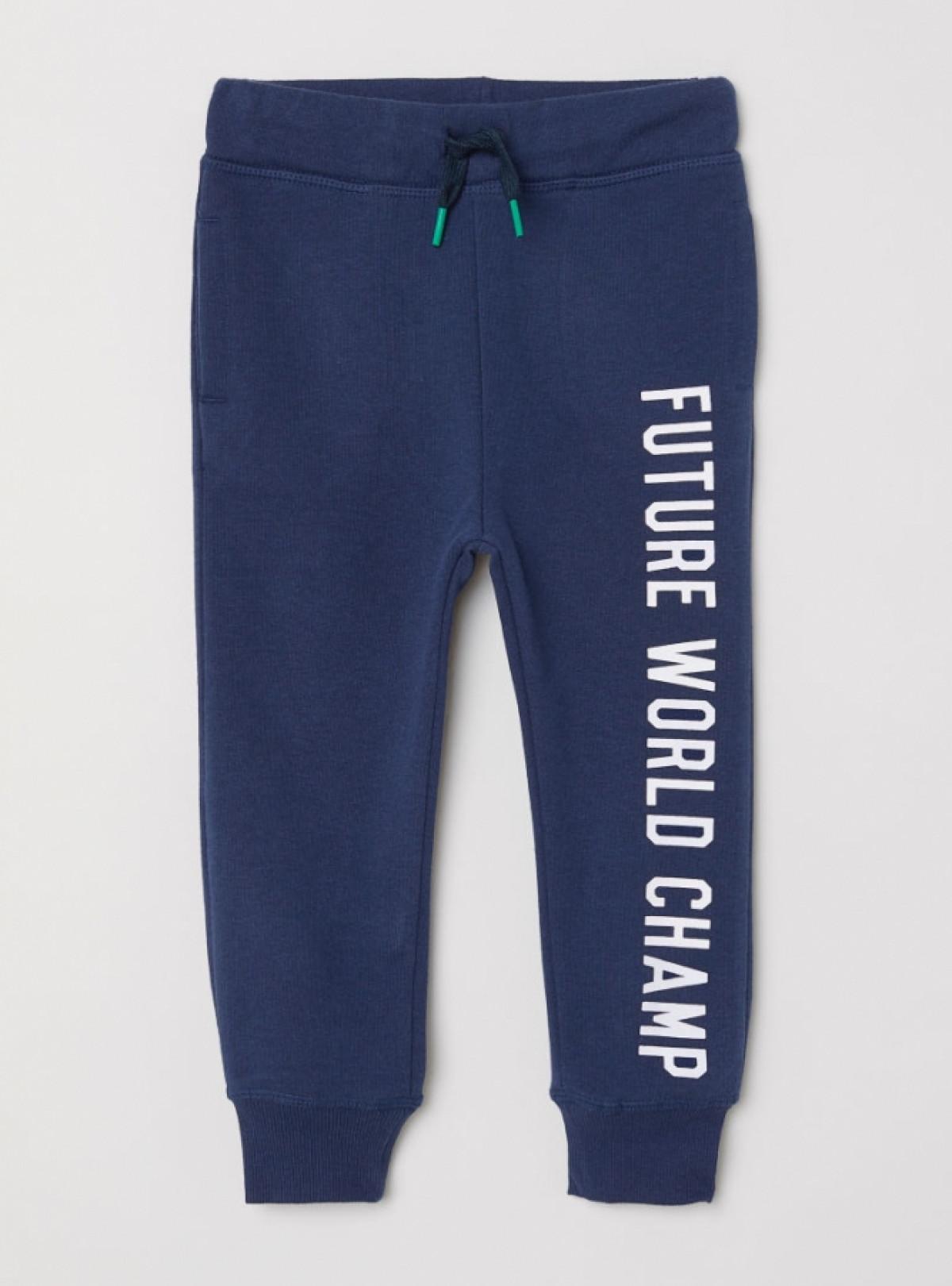 Спортивні штани з принтом H&M 593