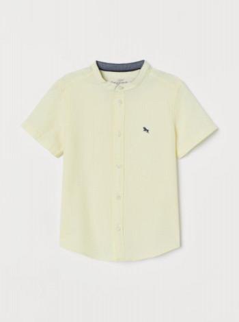 Рубашка для мальчика с короткими рукавами