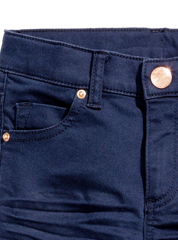 Котонові штани темні H&M 654