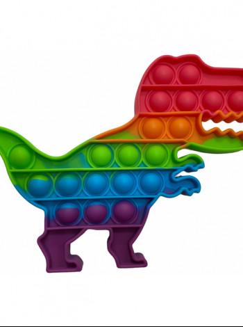 Антистресс сенсорная игрушка Pop It Динозавр