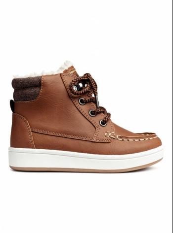 Зимние кроссовки утепленные H&M