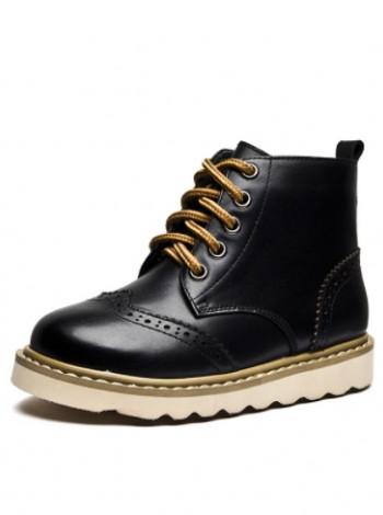 Кожаные классические ботинки на мальчика
