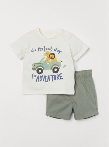 Комплект футболка і шорти на хлопчика