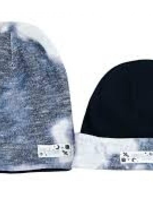 Осенняя шапка Космо черный Dembohouse   781