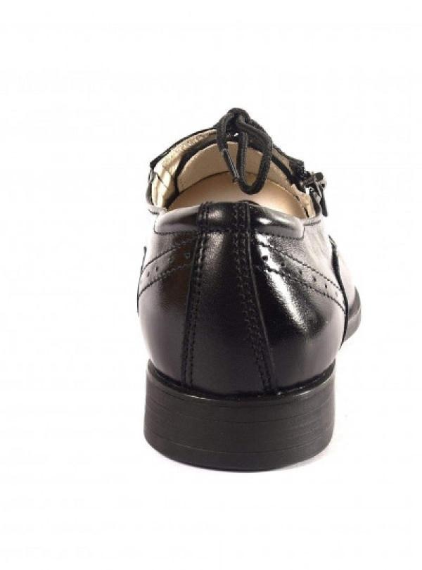 Кожаные школьные туфли   752