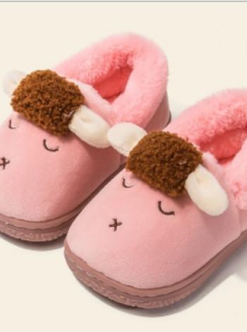 Теплые тапочки для девочки