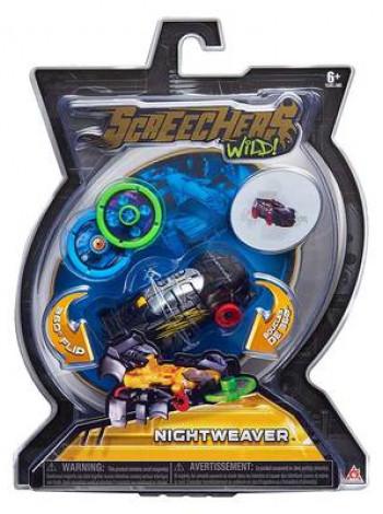Игрушка машинка-трансформер Screechers Wild Level 1Найтвівер