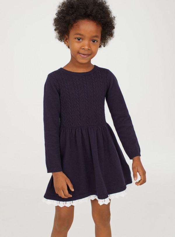 Вязанное легкое платье  H&M   812
