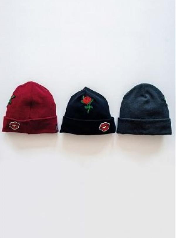Осіння шапка Метрополітен чорний DemboHouse 770