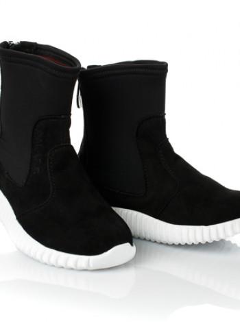 Весняні черевики з нубуку для дівчинки Palaris