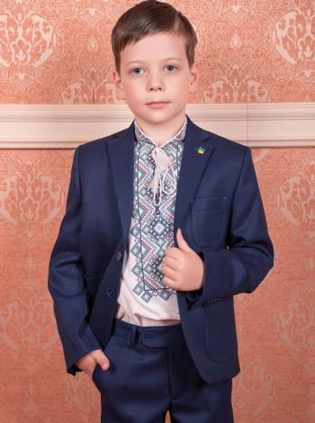 Пиджак Oxford 39.1 синего цвета