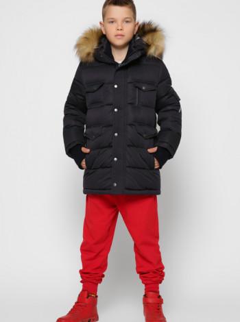 Куртка зимова для хлопчика X-Woyz