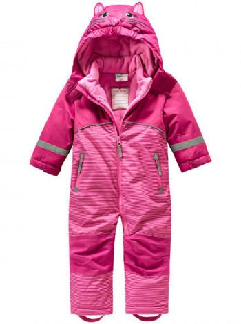 Зимовий комбінезон на дівчинку рожевий