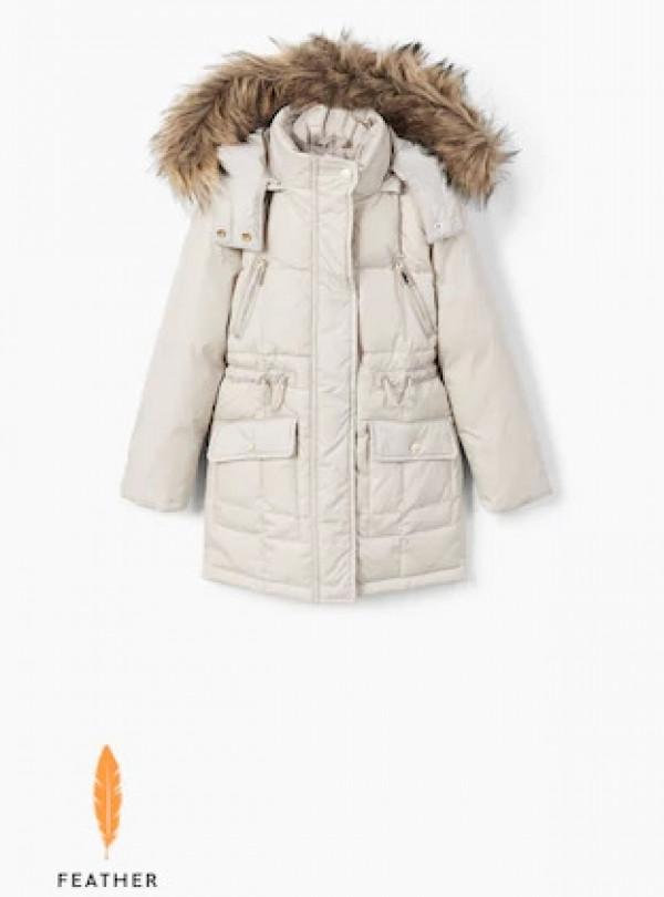 Длинная пуховая куртка Mango   929