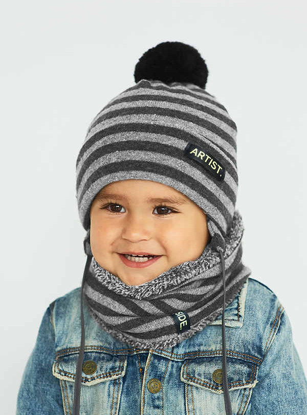 Зимний комплект серый Dembohouse   898