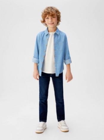 Сорочка джинсова для хлопчика