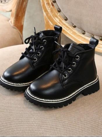 Кожаные деми ботинки