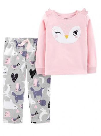 Пижама флисовая для девочки Carters