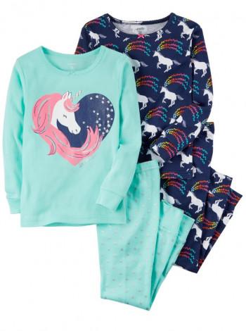 Пижама котоновая на девочку Carters