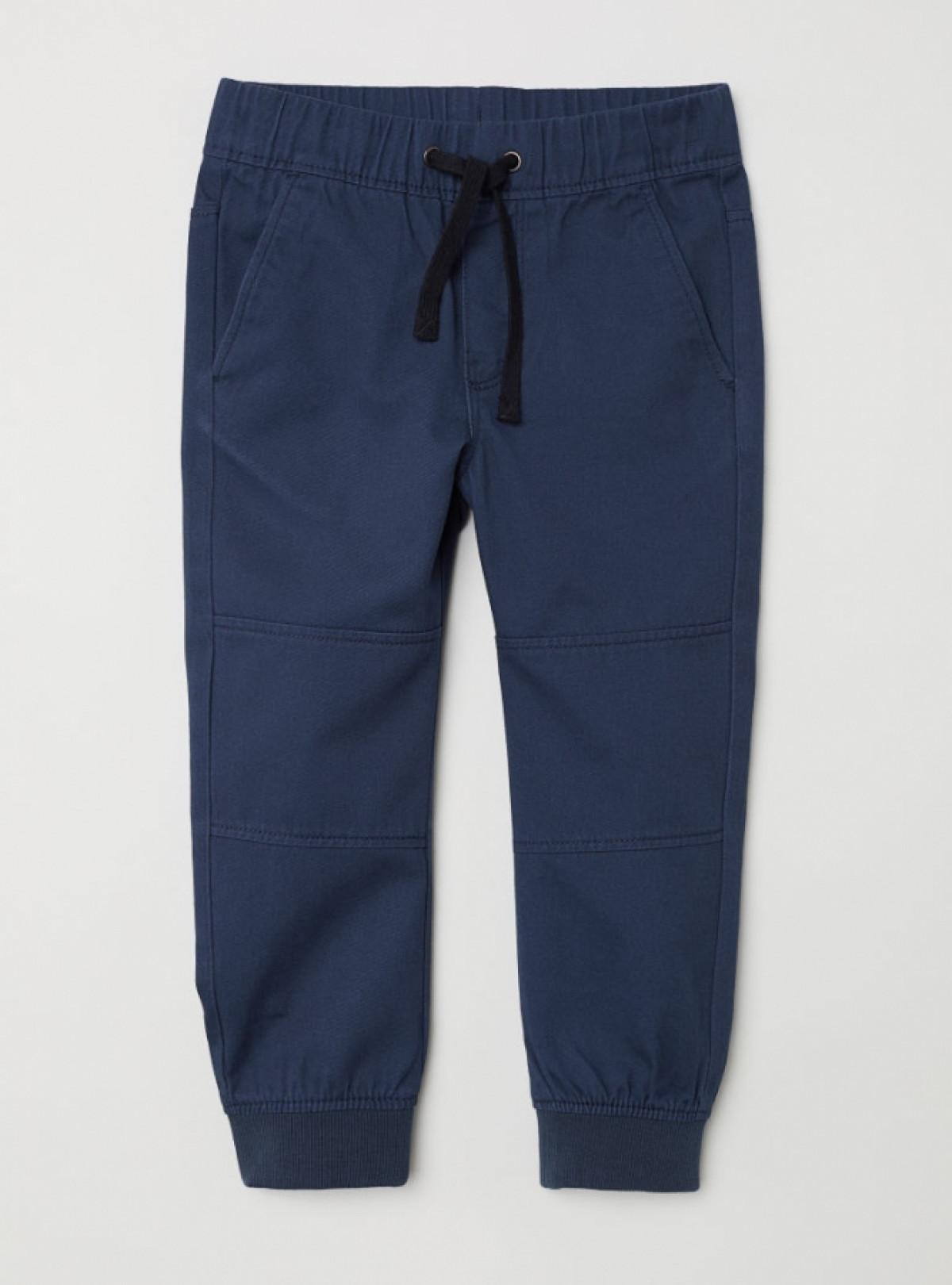 Котоновые штаны на резинке H&M   589