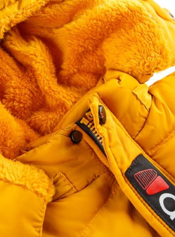 Куртка утеплённая флисом зимняя Венгрия   853
