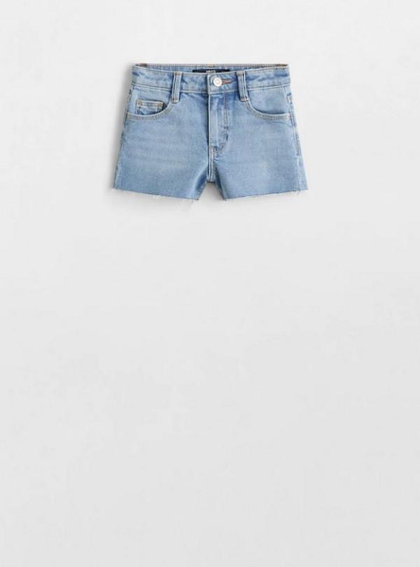 Шорты джинсовые на девочку Mango   4482