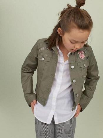 Куртка з вишивкою H&M