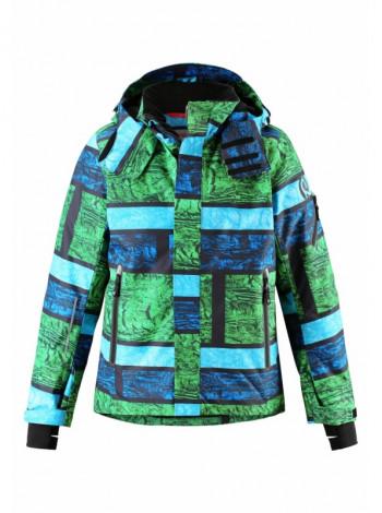 Зеленая куртка для мальчика Reimatec Active Wheeler