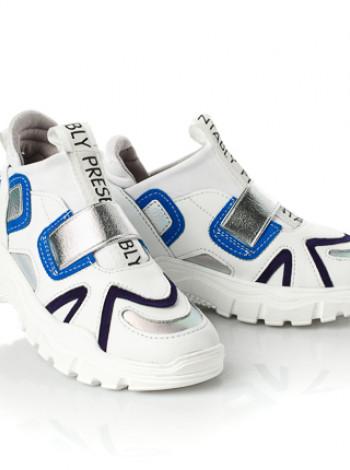 Шкіряні кросівки для дівчинки Palaris
