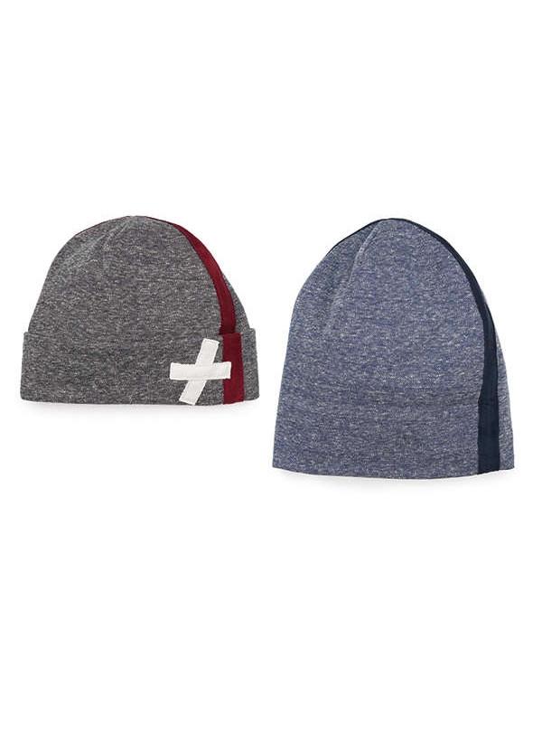 Осенняя шапка Антуан серый Dembohouse   583