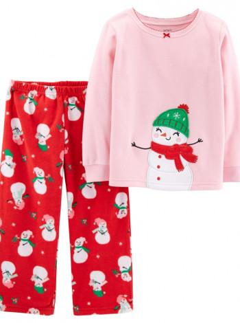 Флисовая пижама на девочку Carters